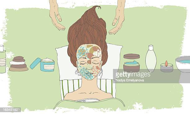 Cosmetic facial mask
