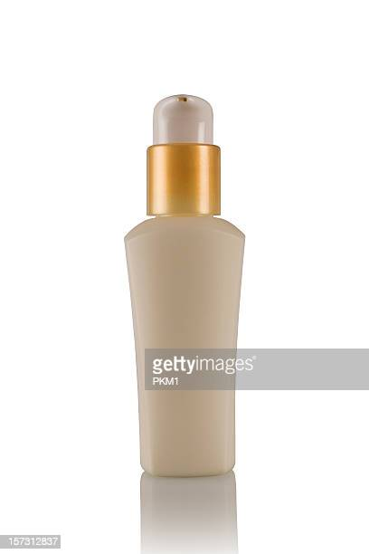 Cosmetics bottle (with clipping path)