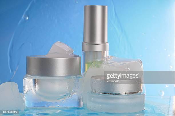 Cosmetici in ghiaccio