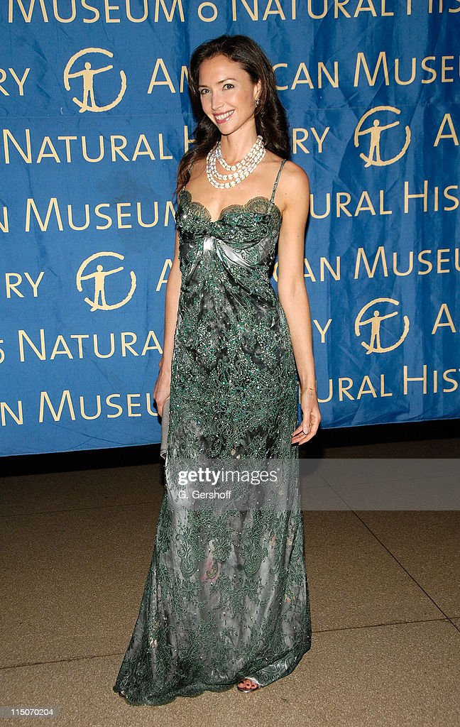 Cosmetology entrepreneur Olivia Chantecaille arrives to the American Museum of Natural History Winter's Dance at the American Museum of Natural...