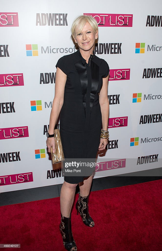 Cosmo Editor in Chief Joanna Coles attends the 2013 Adweek Hot List Gala at Capitale on December 2 2013 in New York City