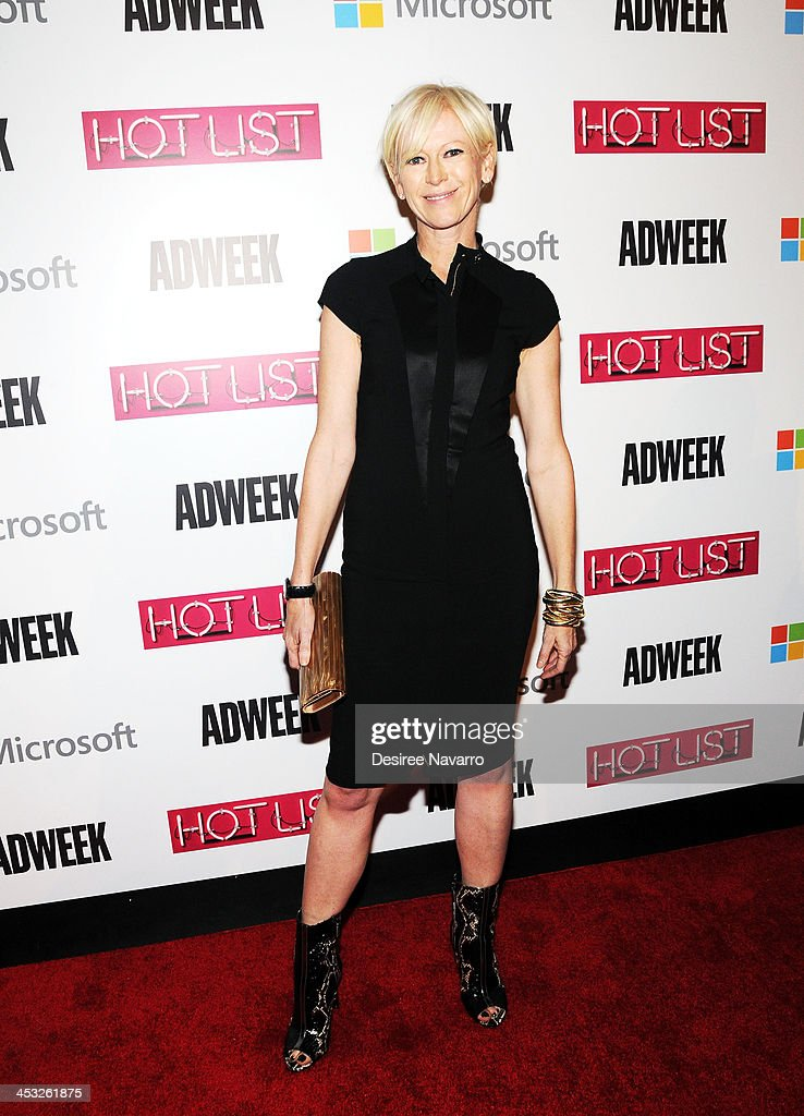 Cosmopolitan Editor in Chief Joanna Coles attends the 2013 Adweek Hot List gala at Capitale on December 2 2013 in New York City