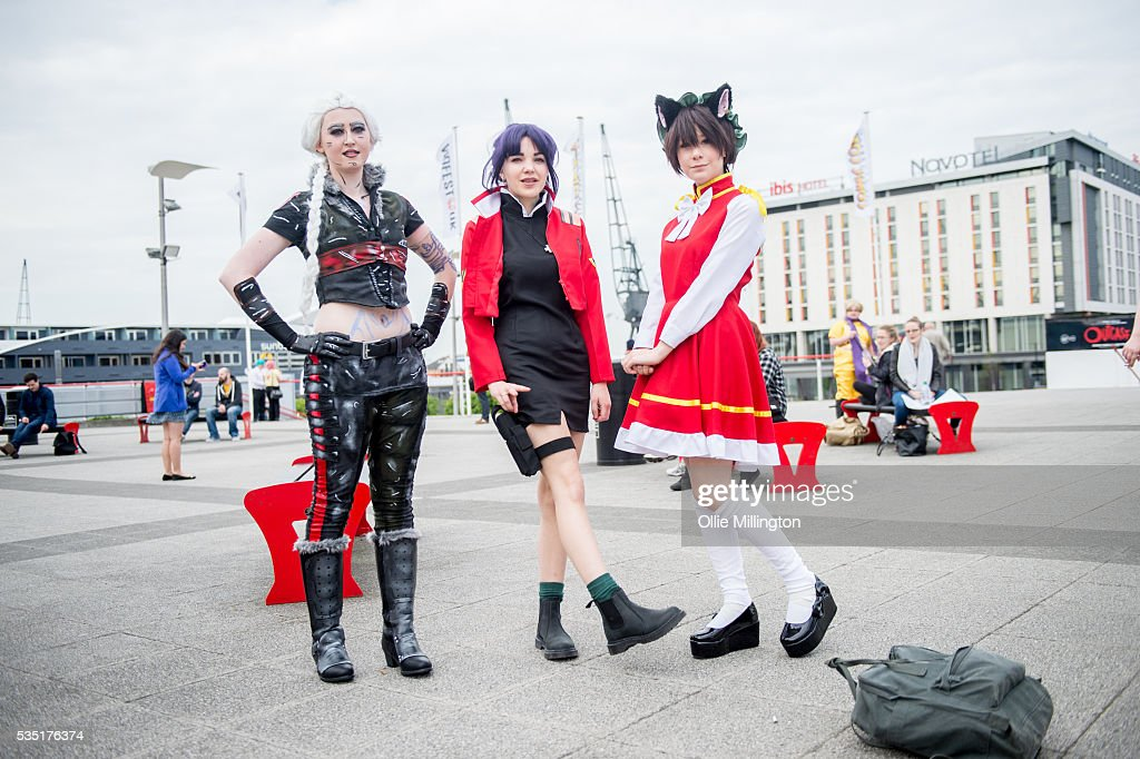 A cosplay enthusiast appear in character on Day 1 of MCM London Comic Con at The London ExCel on May 27, 2016 in London, England.