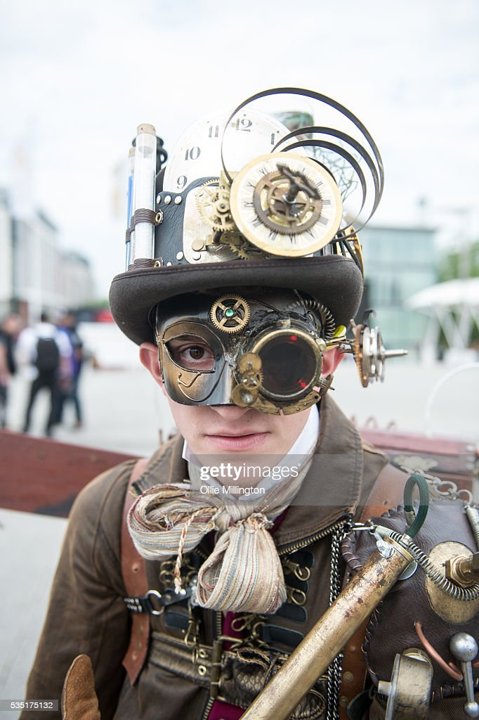 A cosplay enthusiast appears in character as his favourite character from the Fallout vide game during Day 1 of MCM London Comic Con at The London ExCel on May 27, 2016 in London, England.