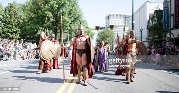 300 cosplay group attend the 2017 DragonCon Parade on September 2 2017 in Atlanta Georgia DragonCon is a multimedia convention held annually over...