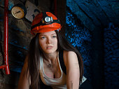 cosplay on the miners in the mine
