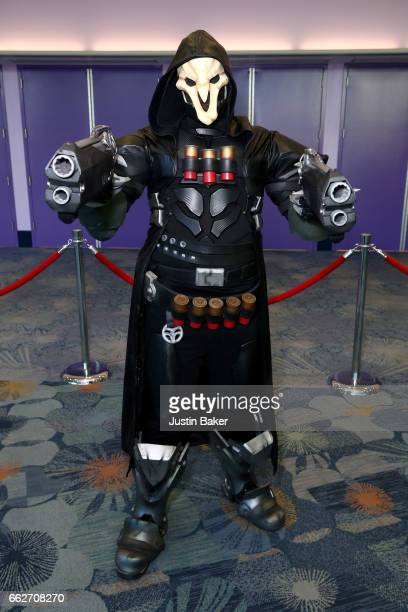 A cosplayer attends day one of WonderCon 2017 at Anaheim Convention Center on March 31 2017 in Anaheim California