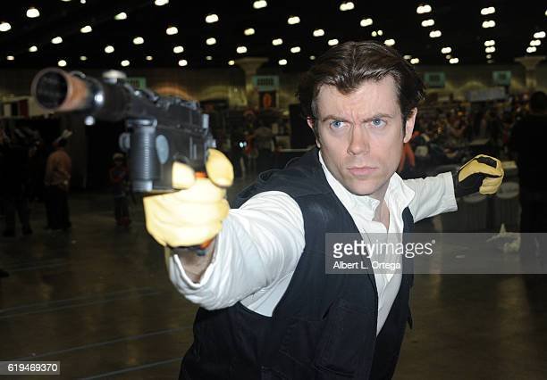 Cosplayer Bryan Morton as Han Solo at day 33 of Stan Lee's Los Angeles Comic Con 2016 held at Los Angeles Convention Center on October 30 2016 in Los...