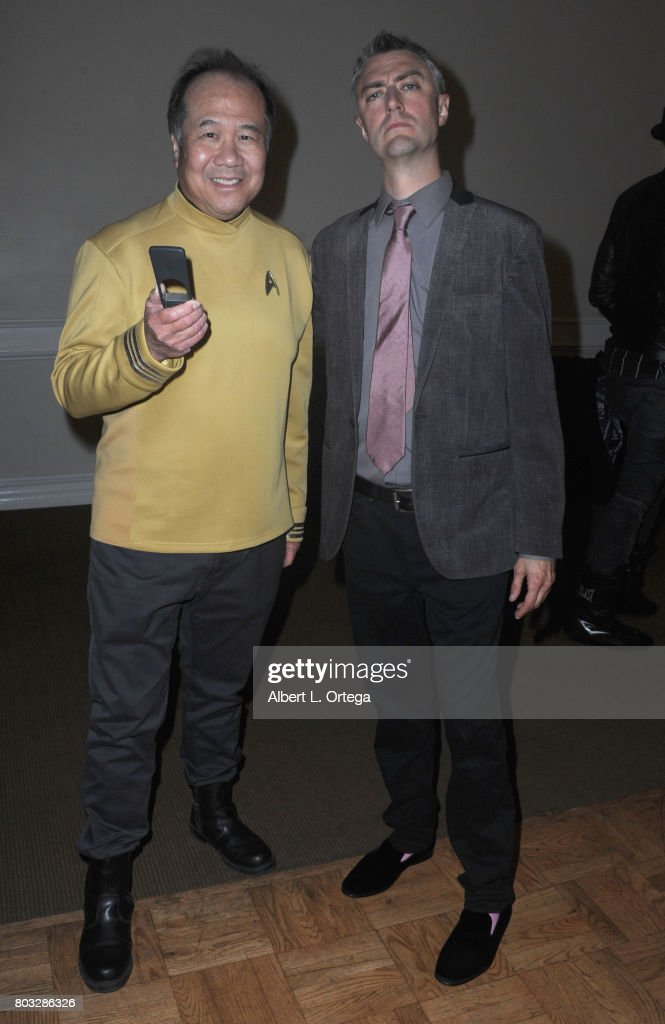 Cosplayer David Cheng and actor Sean Gunn attend the 43rd Annual Saturn Awards - After Party held at The Castaway on June 28, 2017 in Burbank, California.