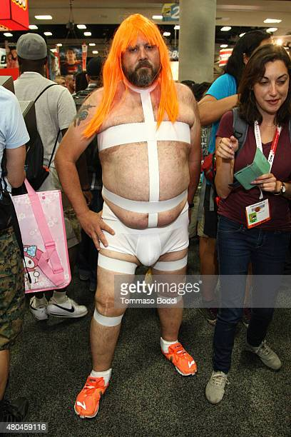Cosplayer during ComicCon International 2015 on July 11 2015 in San Diego California