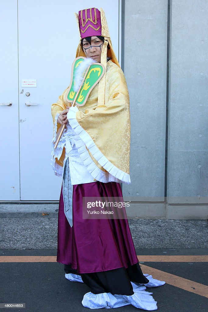Cosplayer 'Ikura', a cosplay name, poses for a photograph at AnimeJapan 2014 at the Tokyo Big Sight on March 22, 2014 in Tokyo, Japan. Cosplay is a short-term for 'costume play'meaning creating costumes and being dressed to recreate animation or film characters.