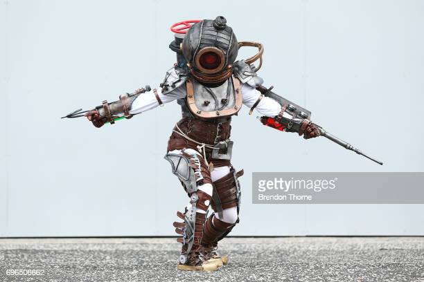 A cosplayer in character at Supanova Comic Con on June 16 2017 in Sydney Australia