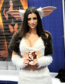 Cosplayer poses during ComicCon International 2015 on July 10 2015 in San Diego California