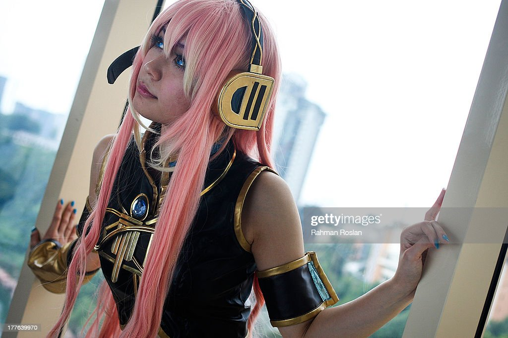 A Cosplayer poses for a photograph during the final day of AniManGaki on August 25, 2013 in Kuala Lumpur, Malaysia. AniManGaki, which is now into its fifth year, attracts fans of Anime, Manga and Cosplay from across Asia who gather together to celebrate the genre.