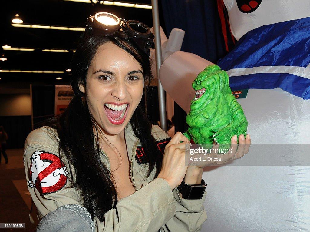 Cosplayer Valerie Perez participates in WonderCon Anaheim 2013 - Day 3 held at Anaheim Convention Center on March 31, 2013 in Anaheim, California.