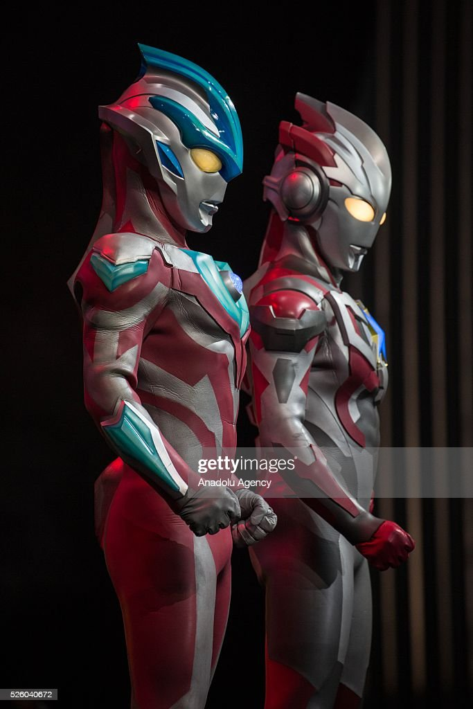 Cosplayers dressed as 'Ultraman' character from an old movie series in Japan created in 1966 pose for a picture during the Bangkok Comic Con 2016 Festival at Bitec Exhibition Centre in Bangkok, Thailand on April 29, 2016. 'Cosplay' imitates characters from comics, video games, anime series and science fiction movies, mostly coming from the Japanese pop culture. Bangkok Comic Con is one of the biggest Pop Culture exhibition in Asia starts from 29 April until 1 May 2016. The event hopes to turn Thailand into a major center for international filmmakers and animators come to create their masterpieces. Comic Con is an internationally renowned event in the world of animation as it started in 1970 in San Diego.