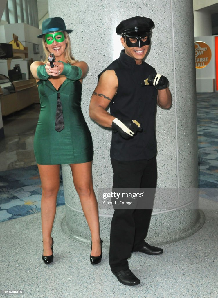Cosplayers participate at WonderCon Anaheim 2013 - Day 1 at Anaheim Convention Center on March 29, 2013 in Anaheim, California.