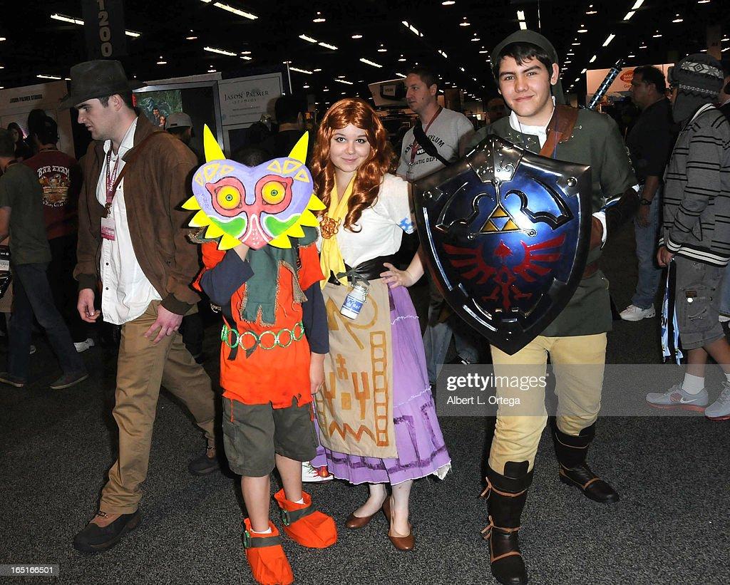 Cosplayers participates in WonderCon Anaheim 2013 - Day 3 held at Anaheim Convention Center on March 31, 2013 in Anaheim, California.