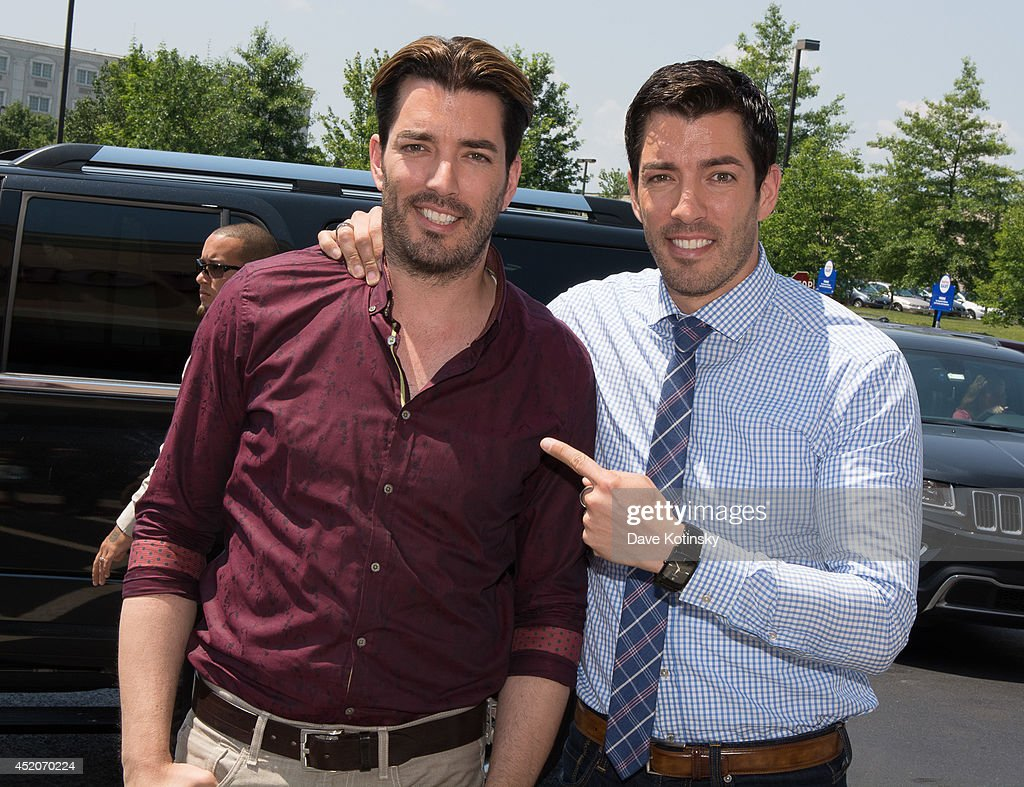 Cost Plus World Market and Jonathan Drew Scott hosts of Property Brothers Celebrate the Grand Opening of its New Livingston NJ Store on July 12 2014...