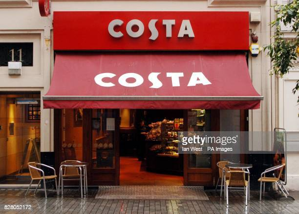 Costa Coffee in central London