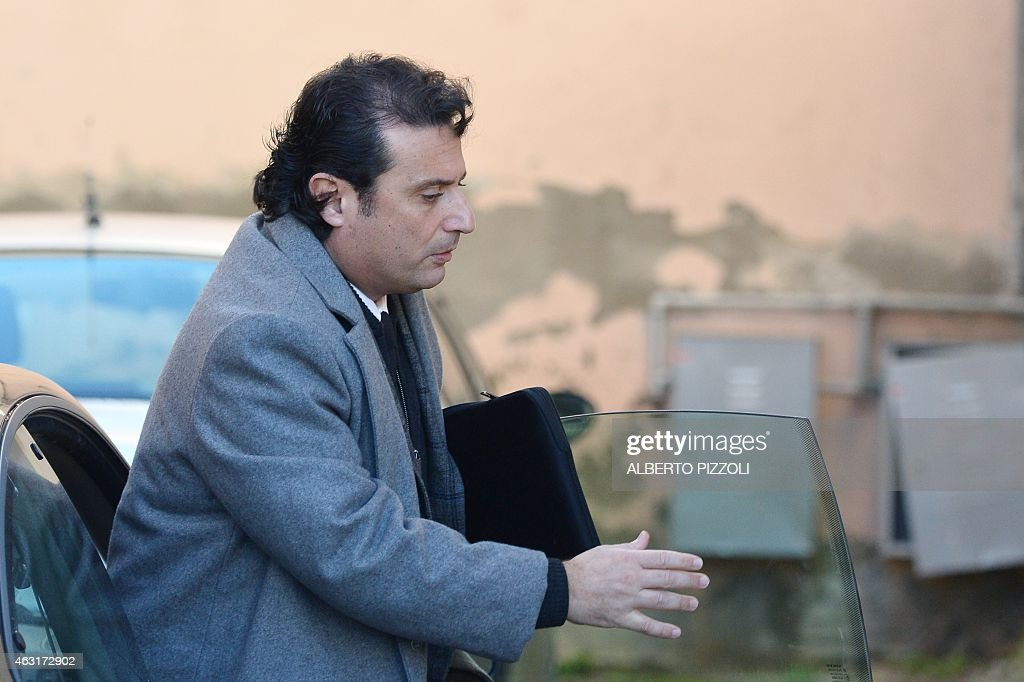 Costa Concordia's captain <a gi-track='captionPersonalityLinkClicked' href=/galleries/search?phrase=Francesco+Schettino&family=editorial&specificpeople=8797246 ng-click='$event.stopPropagation()'>Francesco Schettino</a> arrives at the courthouse for the end of his trial on February 11, 2015 in Grosseto. An Italian court is expected to announce a verdict tonight or tomorrow in the case against <a gi-track='captionPersonalityLinkClicked' href=/galleries/search?phrase=Francesco+Schettino&family=editorial&specificpeople=8797246 ng-click='$event.stopPropagation()'>Francesco Schettino</a>, the captain of the Costa Concordia cruise ship that capsized in 2012, killing 32 people. Schettino, 54, is charged with multiple manslaughter and causing a shipwreck. He is also accused of abandoning ship ahead of his passengers. AFP PHOTO / ALBERTO PIZZOLI
