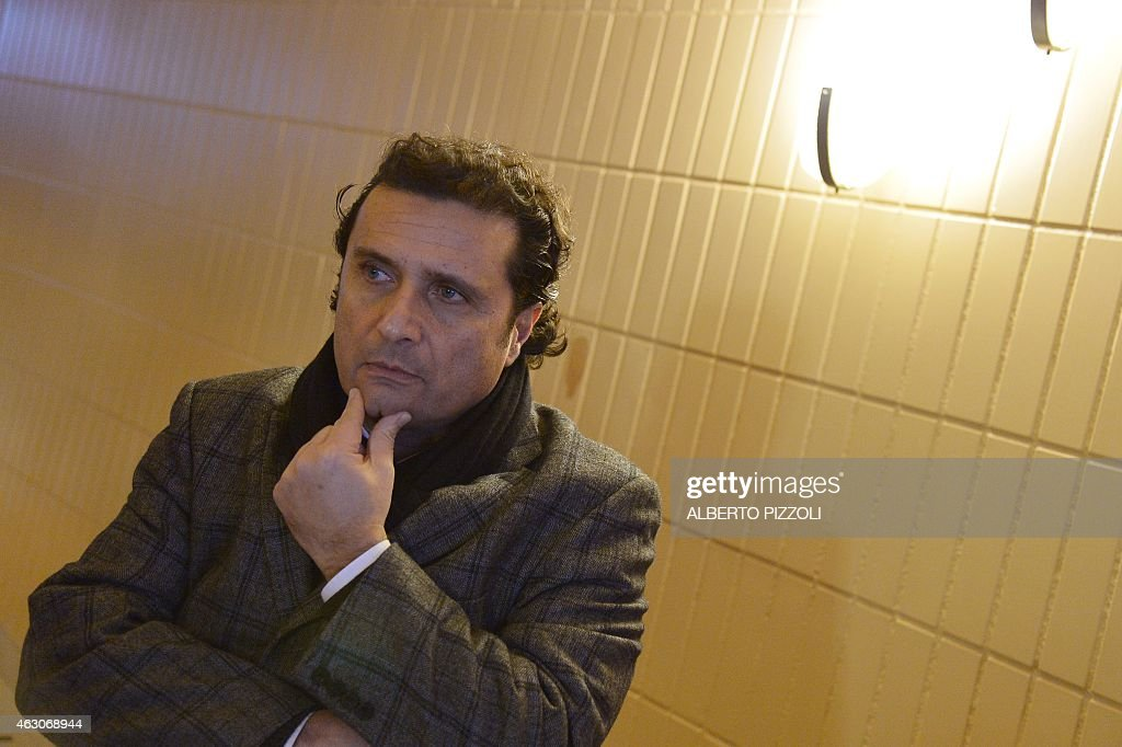 Costa Concordia's captain <a gi-track='captionPersonalityLinkClicked' href=/galleries/search?phrase=Francesco+Schettino&family=editorial&specificpeople=8797246 ng-click='$event.stopPropagation()'>Francesco Schettino</a> is pictured during a break at is trial on February 9, 2015 in Grosseto. An Italian court is expected to announce a verdict this week in the case against <a gi-track='captionPersonalityLinkClicked' href=/galleries/search?phrase=Francesco+Schettino&family=editorial&specificpeople=8797246 ng-click='$event.stopPropagation()'>Francesco Schettino</a>, the captain of the Costa Concordia cruise ship that capsized in 2012, killing 32 people. Schettino, 54, is charged with multiple manslaughter and causing a shipwreck. He is also accused of abandoning ship ahead of his passengers. AFP PHOTO / ALBERTO PIZZOLI