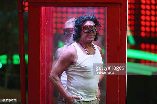 Costa Cordalis attends the 1st live show of the television show 'Ich bin ein Star lasst mich wieder rein' on July 31 2015 in Huerth Germany