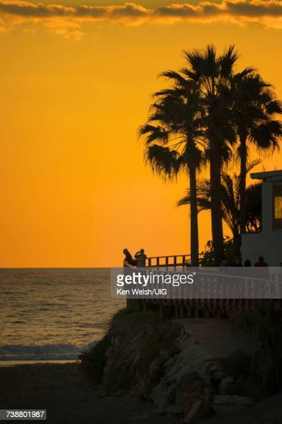 'Costa del Sol boardwalk, Spain'
