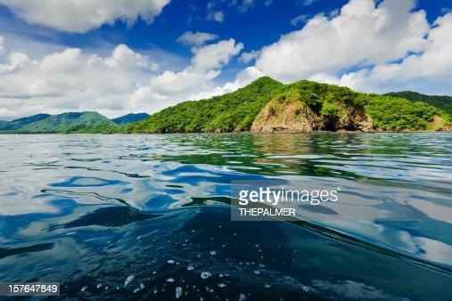 costa rica coast line