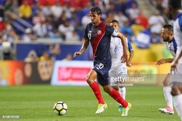 Costa Rica midfielder Bryan Ruiz during the first half of the CONCACAF Gold Cup Group A Game between Costa Rica and Honduras on July 07 at Red Bull...