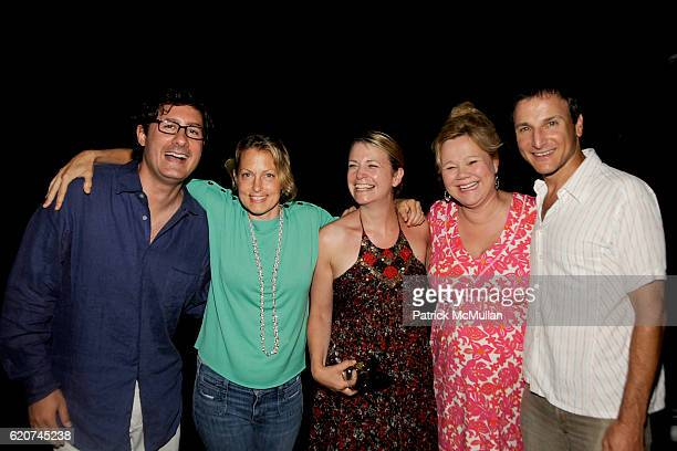 Costaki Econopoulos Alexandra Wentworth Jane Fallon Caroline Rhea and Michael Gelman attend DreamWorks Pictures Screening of GHOST TOWN and After...