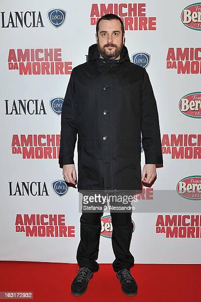Costantino Della Gherardesca attends 'Amiche da Morire' Red Carpet on March 5 2013 in Milan Italy