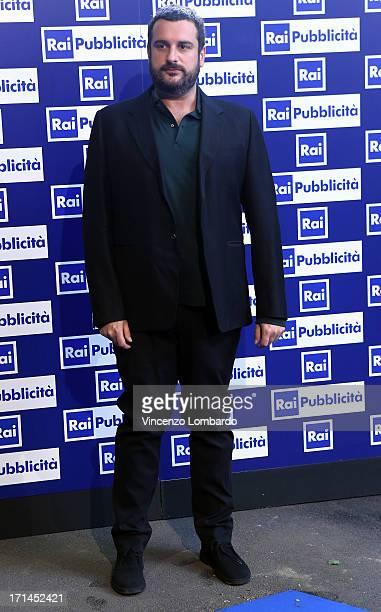 Costantino della Gherardesca attends the RAI 2013 Programming Presentation on June 24 2013 in Milan Italy