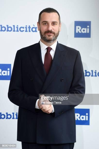 Costantino della Gherardesca attends the Rai show schedule presentation at Statale University of Milan on June 28 2017 in Milan Italy