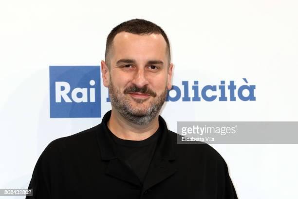 Costantino Della Gherardesca attends the Rai Show Schedule Presentation In Rome on July 4 2017 in Rome Italy