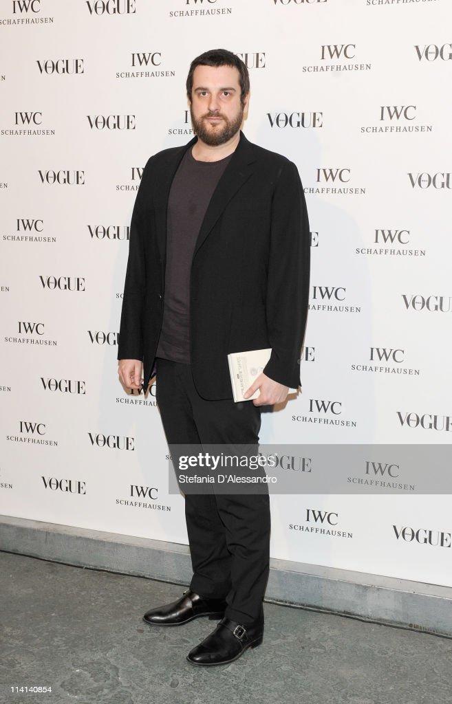 Costantino Della Gherardesca attends Vogue and IWC present 'Peter Lindbergh's Portofino' at 10 Corso Como on May 12, 2011 in Milan, Italy.