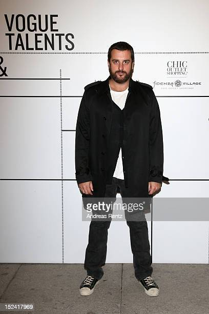 Costantino della Gherardesca attends 'Who Is On Next' And 'Vogue Talents' event as part of Milan Womenswear Fashion Week on September 20 2012 in...