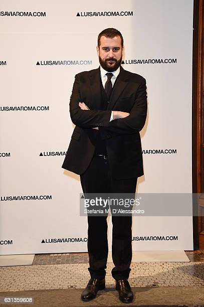 Costantino della Gherardesca walks the red carpet of Firenze4ever 14th Edition Party hosted by LuisaViaRoma on January 9 2017 in Florence Italy