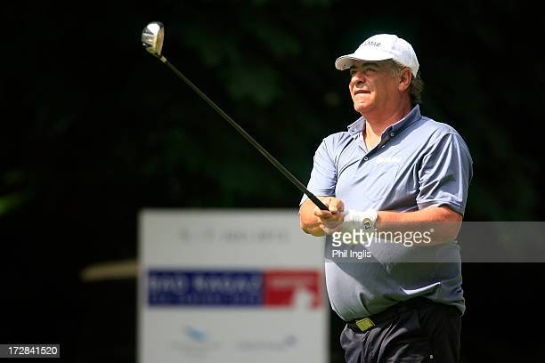 Costantino Rocca of Italy in action during the first round of the Bad Ragaz PGA Seniors Open played at Bad Ragaz Golf Club on July 5 2013 in Bad...