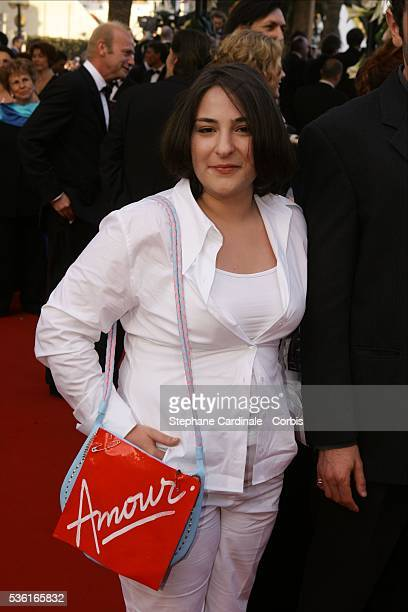 Costar Marilou Berry arrives for the screening of 'Comme Une image' by Agnes Jaoui at the 2004 Cannes Film Festival