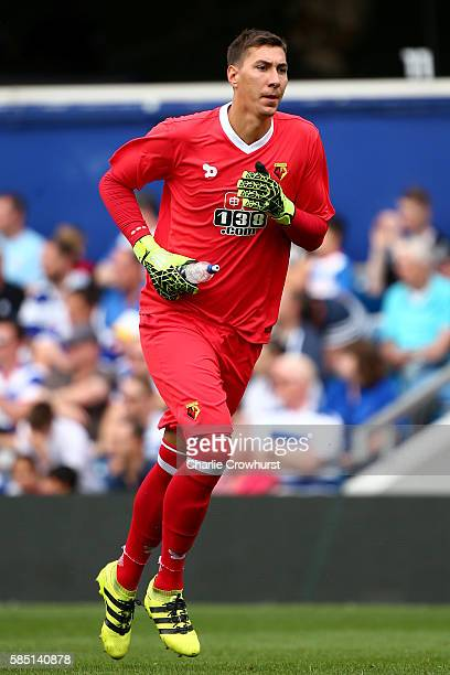 Costel Pantilimon of Watford during the pre season friendly match between Queens Park Rangers and Watford at Loftus Road on July 30 2016 in London...