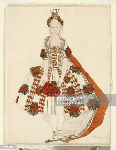 Costume Design for the Fairy MountainAsh From Sleeping Beauty