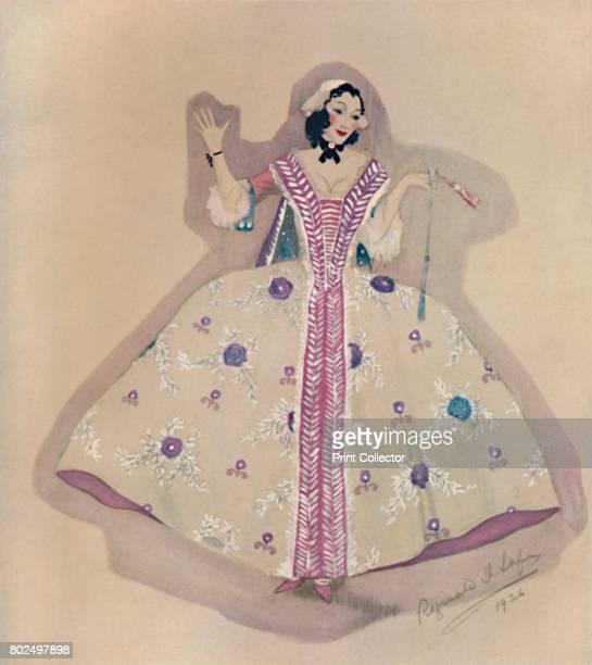 Costume Design' From Design in the Theatre edited by Geoffrey Holme [The Studio Ltd London 1927]Artist Reginald Leefe