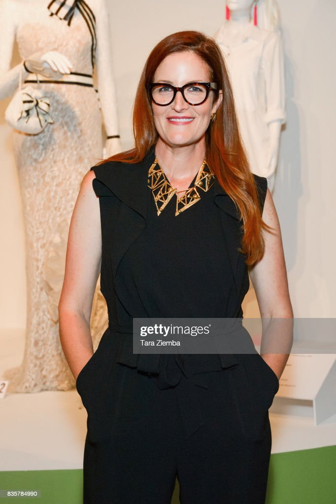 Costume designer Alix Friedberg of the Emmy nominated show 'Big Little Lies' attends the media preview of the 11th annual 'Art Of Television Costume Design' exhibition at FIDM Museum & Galleries on the Park on August 19, 2017 in Los Angeles, California.