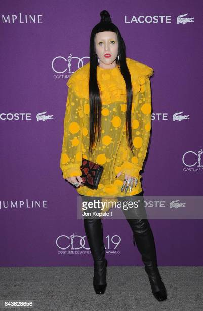 Costume designer B Akerlund arrives at the 19th CDGA at The Beverly Hilton Hotel on February 21 2017 in Beverly Hills California