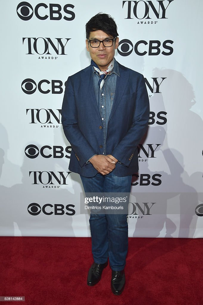 Costume designer Clint Ramos attends the 2016 Tony Awards Meet The Nominees Press Reception on May 4, 2016 in New York City.