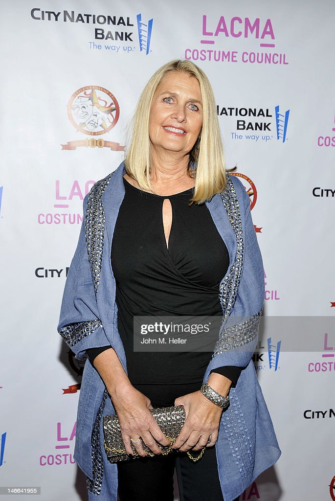 Costume designer Deborah Hoper arrives at The Costume Council Of LACMA Celebrates The Western Costume Company: The First 100 Years at the Bing Theatre at LACMA on June 20, 2012 in Los Angeles, California.