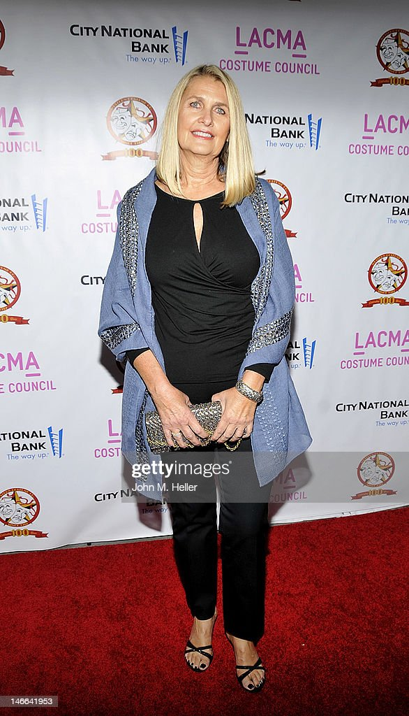 Costume designer Deborah Hopper arrives at The Costume Council Of LACMA Celebrates The Western Costume Company: The First 100 Years at the Bing Theatre at LACMA on June 20, 2012 in Los Angeles, California.