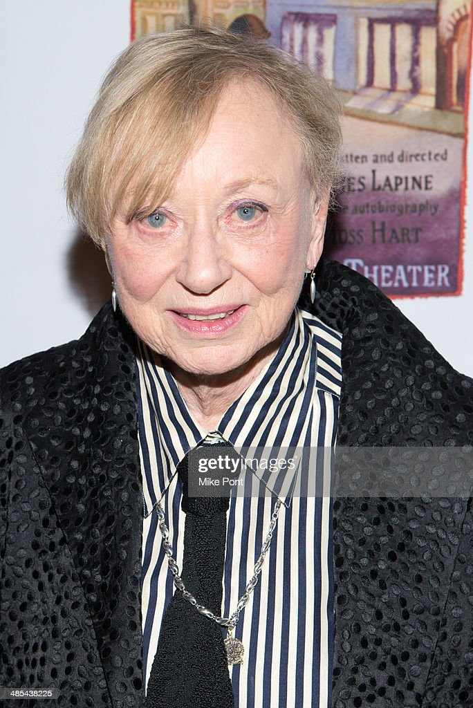 Costume Designer Jane Greenwood attends the opening night party for 'Act One' at The Plaza Hotel on April 17, 2014 in New York City.