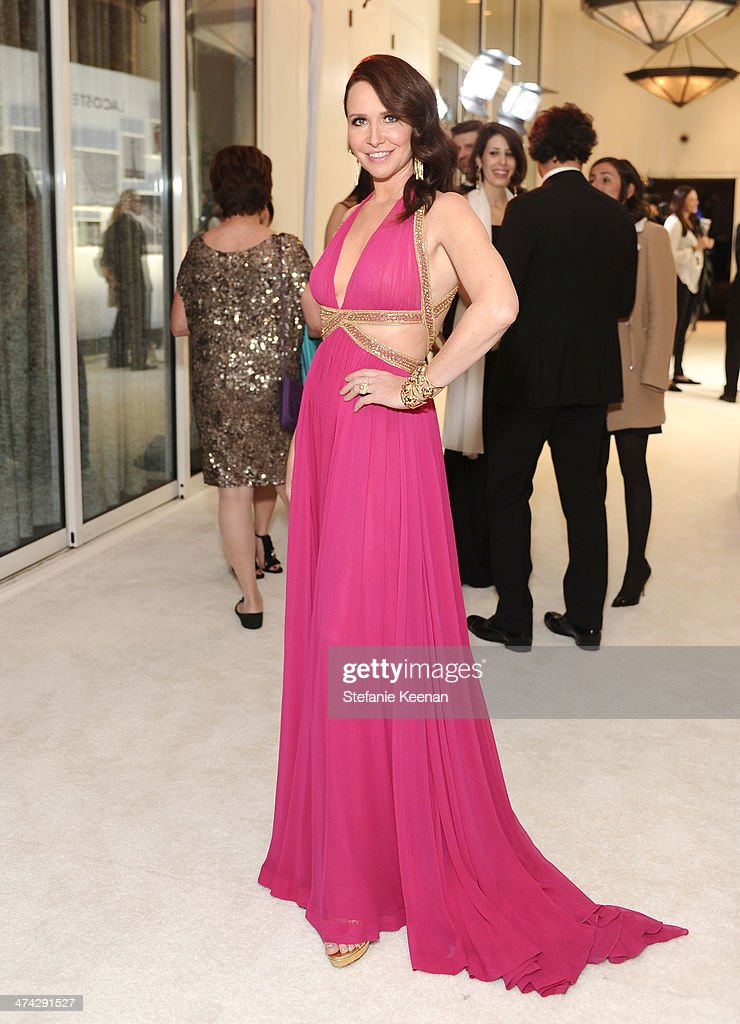Costume designer Janie Bryant attends the 16th Costume Designers Guild Awards with presenting sponsor Lacoste at The Beverly Hilton Hotel on February 22, 2014 in Beverly Hills, California.